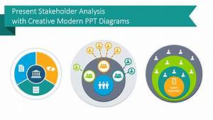 Present Stakeholder Analysis With Creative Modern Ppt