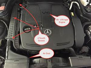 Pictorial Air Filter Replacement For E350 Coupe