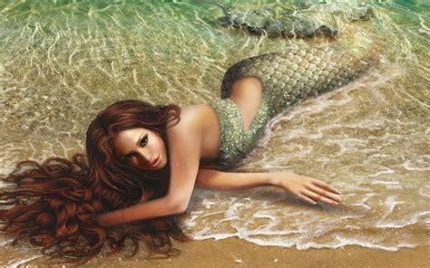 artworks beauty mermaid beautiful abstract hd