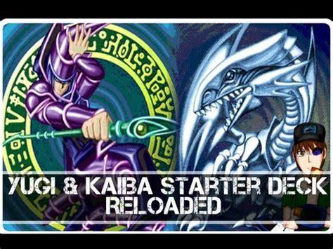 Yugioh Yugi Starter Deck & Kaiba Starter Deck Reloaded