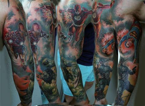 Top 10 Super Hero Tattoo Designs  Tattoo Artist Magazine