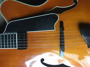 Piezo Addition To Floating Pickup Archtop