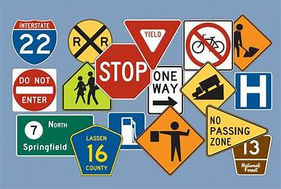 Traffic Signs Road Safety Rambu Symbols Rules
