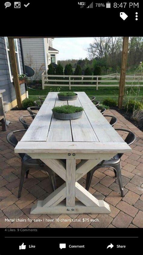 farmhouse outdoor furniture ideas  pinterest farmhouse outdoor dining furniture