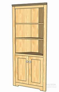 Corner Cabinets Plans : Plans For Building Furniture