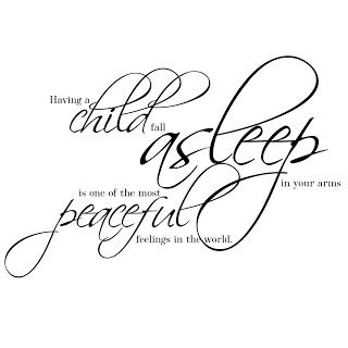 sleeping children quotes