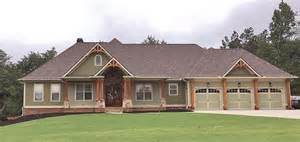 Craftsman Ranch House Plans Photo Gallery by Craftsman Ranch Traditional House Plan 50264
