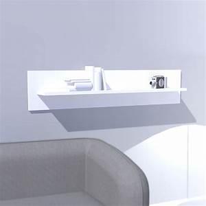 Etagere Blanche Murale : etag re murale laqu e blanche box mooviin ~ Teatrodelosmanantiales.com Idées de Décoration