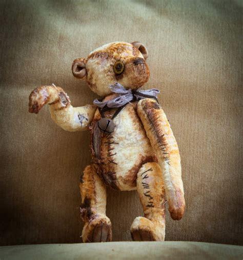 creepy vintage teddy bear  yumi camui bear pile