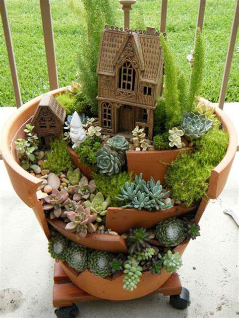 succulents in a pot gardens with succulents from broken pots world of succulents