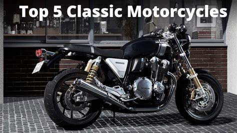 Top 5 Classic/retro Motorcycles High End