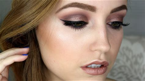 taupe purple makeup tutorial youtube