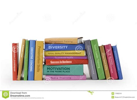 business training books royalty  stock  image