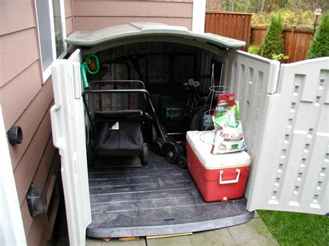 Lawn Mower Storage Shed by What Size Tool Shed Will A Lawn Mower Fit In