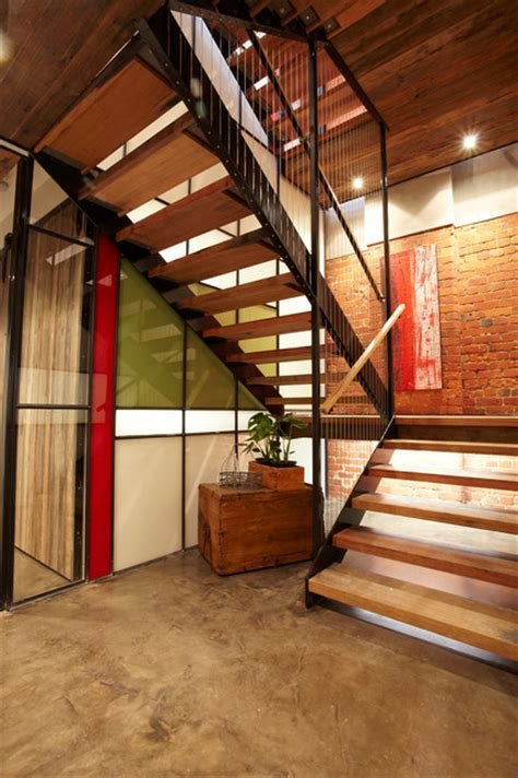 richmond warehouse conversion industrial staircase
