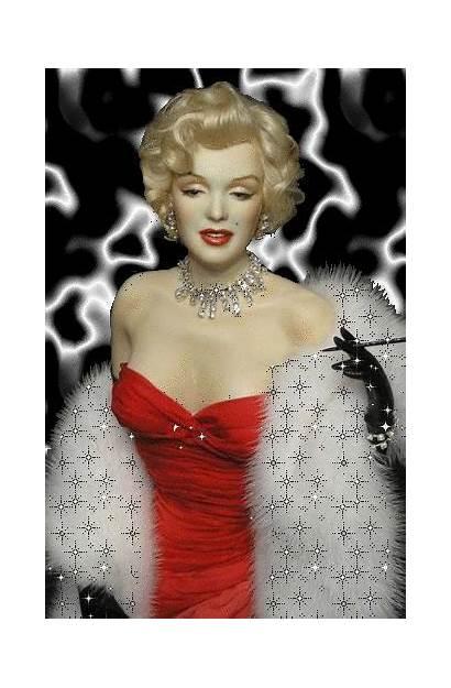 Monroe Marilyn Gifs Mia Glamour Strapless Shots