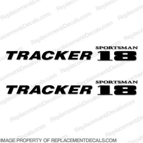 Sportsman Boats Decal by Tracker Sportsman 18 Boat Logo Decals Any Color