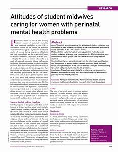 (PDF) Attitudes of student midwives caring for women with ...