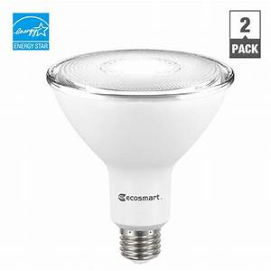Ecosmart w equivalent bright white par dimmable led