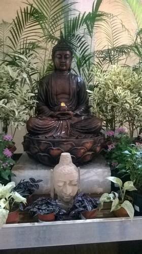 lotus buddha waterfall water fountain  rs  piece