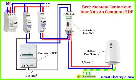 contacteur jour nuit legrand branchement contacteur jour nuit a chauffe eau circuit electrique schema branchement cablage