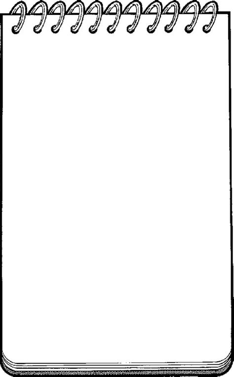page writing cliparts   clip art