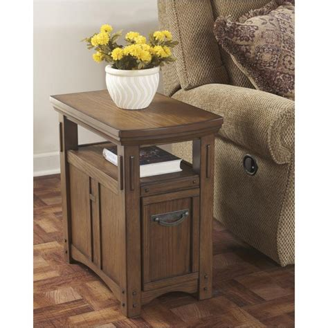 ashley furniture kelvin hall chair side  table