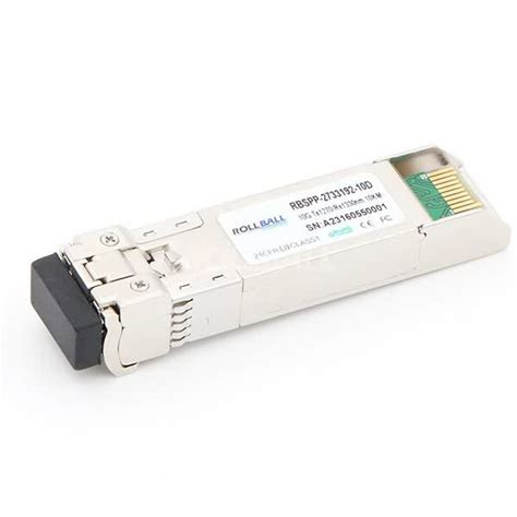 Bidi Sfp by 1 25g Bidi Sfp Transceiver Modules Rollball International