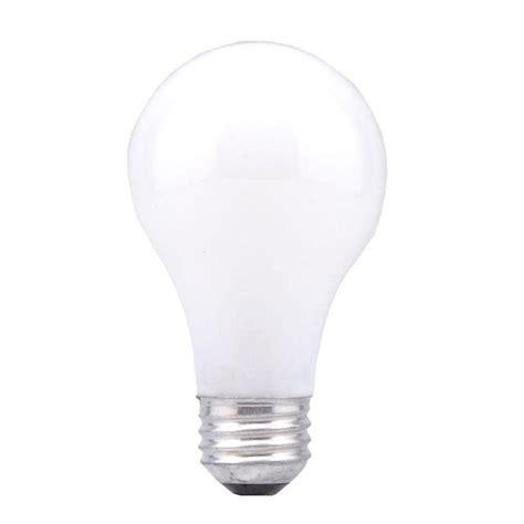 sylvania 50 200 250 watt incandescent a21 3 way light bulb