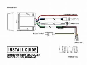 Plug U0026play Led Drl Adapter Module For 13