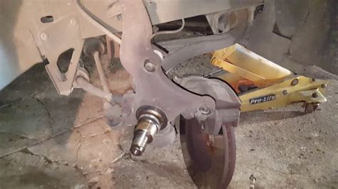 Replacing Ba Ford Falcon Front Wheel Bearings