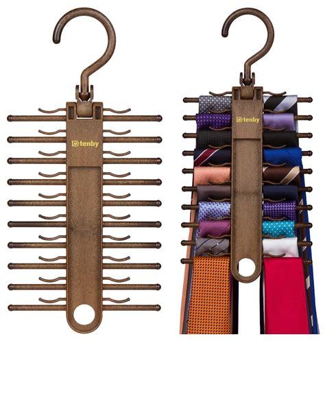 Tie Rack For Closet by 2 Pack Tie Rack Organizer Hanger Holder Storage Closet