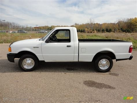 ranger ford 2005 oxford white 2005 ford ranger xl regular cab exterior
