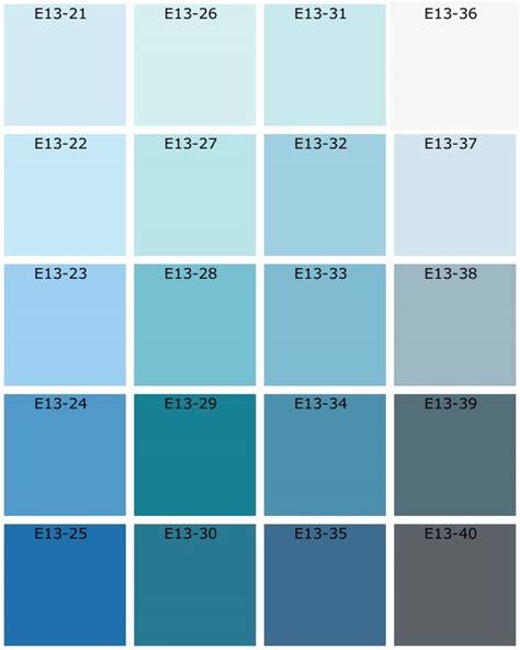 couleur chambre bleu nuanciers tassili natura les bleus