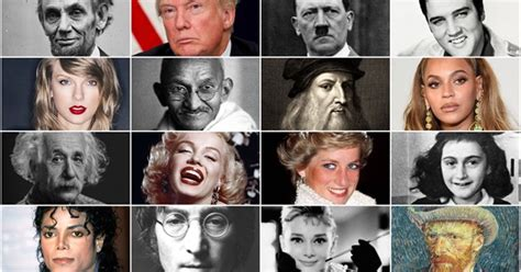 Most Famous People On Earth The Earth Images Revimageorg