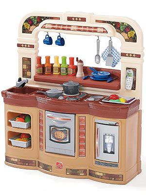 step 2 lifestyle deluxe kitchen lifestyle partytime kitchen play kitchen step2