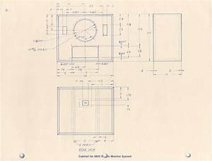 Loudspeaker Schematic Diagram And Cabinet Design Plan