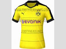 Borussia Dortmund 201516 Home Away Kits Leaked