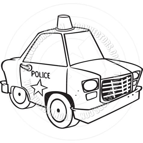 cartoon car black and white cartoon police car black and white line art by ron