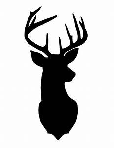 25+ best ideas about Deer head silhouette on Pinterest ...