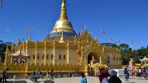 pagoda tertinggi  indonesia   berastagi