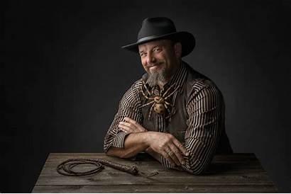 Beard Spider Cowboy Hat Wallpapers Wrangler Dog
