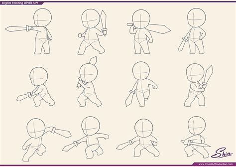 anime chibi pose studying chibi fighting poses by shinekoshin on deviantart
