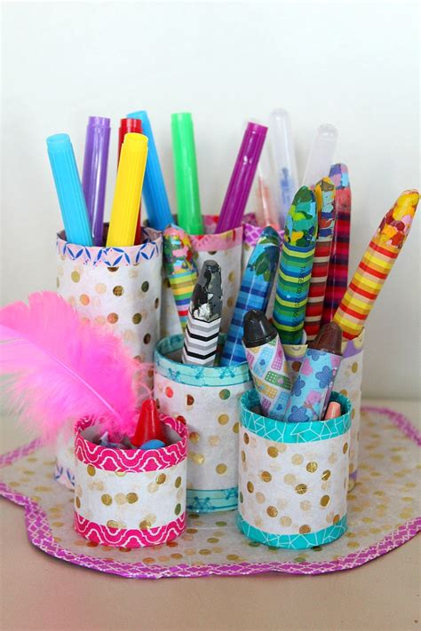 Diy Pen Organizer Easy & Affordable With Recycled Materials