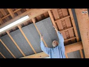 Comment Isoler Sol Pour Vérandas : isoler facilement la sous toiture avec des panneaux de ~ Premium-room.com Idées de Décoration