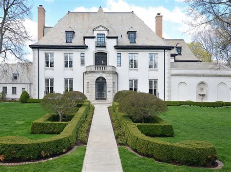 .799 Million Historic French Provincial Home In Hinsdale