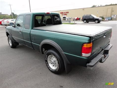 Amazon Green Metallic 1999 Ford Ranger XLT Extended Cab