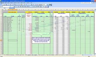 Self Employed Tax Deductions Worksheet Monthly Bookkeeping Packages Images Frompo