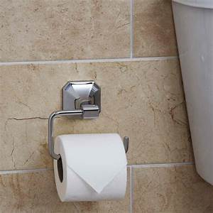 Bathroom, Toilet, Loo, Roll, Paper, Holder, Traditional, Square, Wall, Mounted, Chrome, 5056093610201