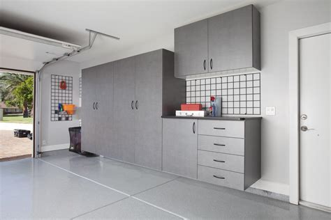 Plans For Garage Wall Cabinets  Various Design Ideas For